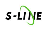 S-Line Typography Logo