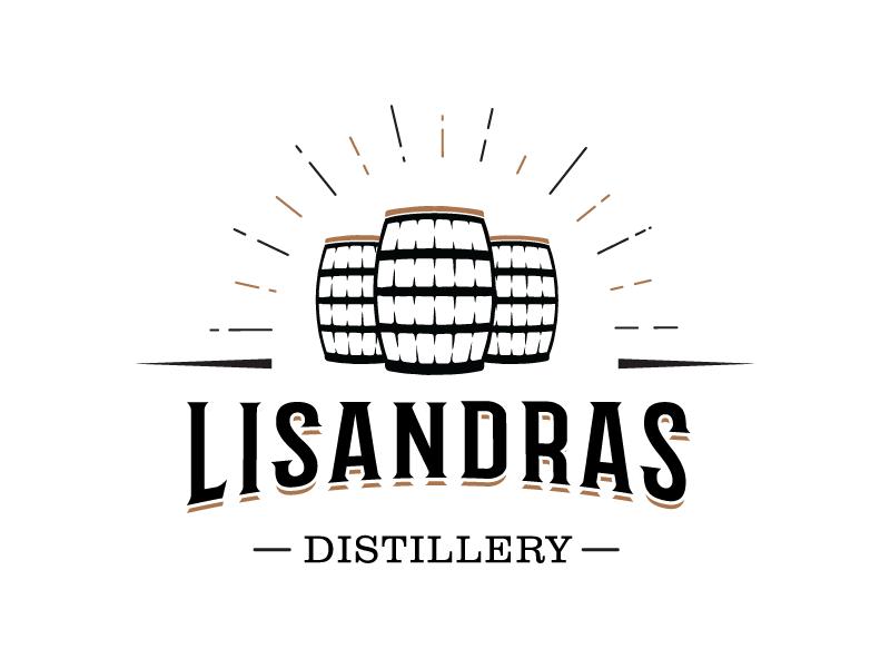 Whiskey Distillery Logo logo logochallenge dailylogochallenge brown vodka gin wine vintage badge grunge distillery western barrel whiskey vintage logo