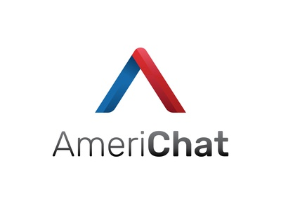 Logo Concept for a Chat Service  - AmeriChat