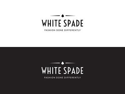 Logo Concept for a Fashion Brand fashion branding vector dailylogochallenge typography logochallenge logodesign luxury logo luxury black spade white blackandwhite minimal