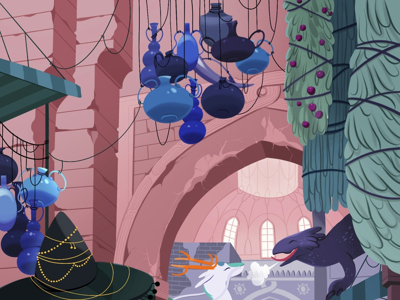 illustrations for a media server game part 2 illustration character cards associates