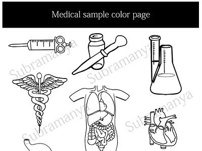 Medical vector medical vector outline line art medical illustration illustration medical vector