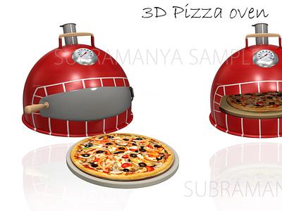 Oven pizza 3d model pizza hut 3d models maya blender 3d modeling 3d pizza 3d model oven