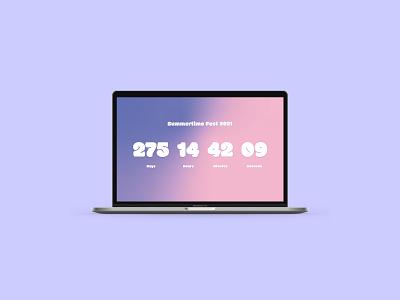 DailyUI - 014 - Countdown Timer countdowntimer countdown graphics webdesign app design design ui graphic design dailyuichallenge dailyui app daily 100 challenge
