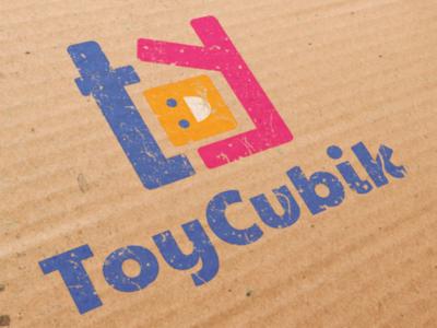 ToyCubik Logo vector logotype type logo