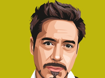 portrait illustration vector illustration