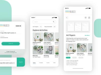 App Interface UI Design web design app ui graphic design visual identity ui design mockup interface app design color palette visual design