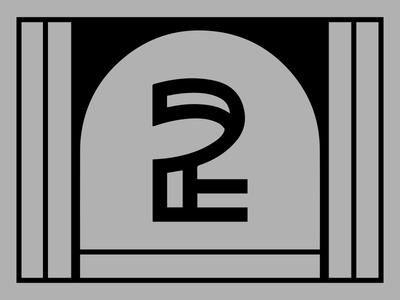 2 Invites brutalist 2 gif animation primary colors custom type dribbble invites