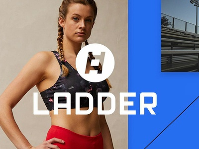 Ladder brand development branding custom type movement ladder tech design emiliano granado art direction fit tech tech fitness gin  lane