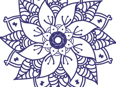 Mandala by Arcadia Bytes mandala art mandala illustration design