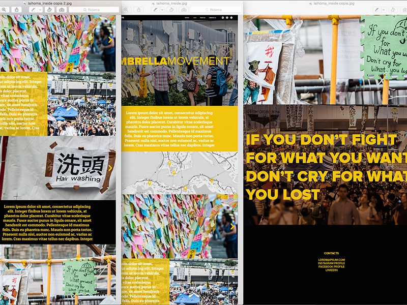 website inside page hongkong website people trip yellow pictures flat
