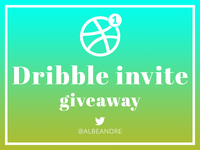 Dribbble Invite Giveaway