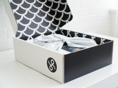 Spun Packaging layout package box sheets logos package-design