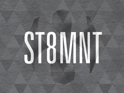 ST8MNT Business Card Redesign