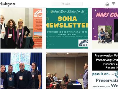 Southwest Oral History Association Social Media photography social media