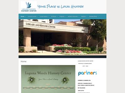 Laguna Woods History Center Website
