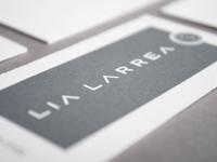 Wordmark and letterpress application