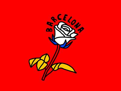 BARCELONA type color barcelona  typeface holiday vacation spanish rose europe espana travel barcelona spain
