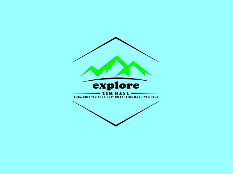 explore bandung adventure explore logodesign