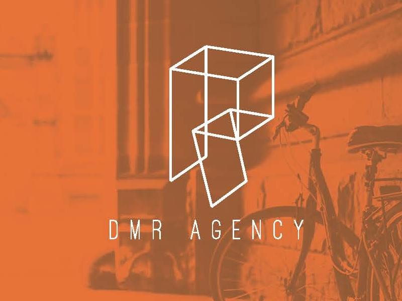 Dmr Logo 2 identity marketing r brand orange logo