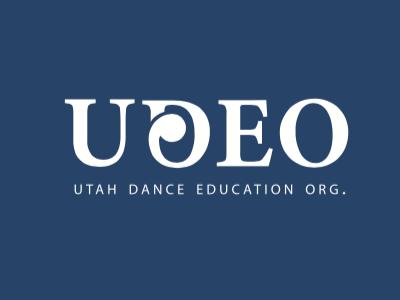 UDEO Logo-For Dance Education strategy organization education branding utah logo dance