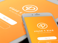 Stand 4 Kind App Concept