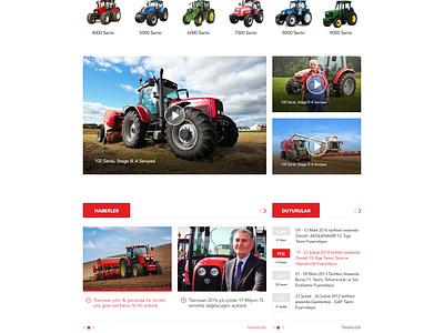 TÜMOSAN tümosan graphic creative web design flat ux ui engine forklift tractor