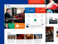 Talas Municipality Web Interface Design