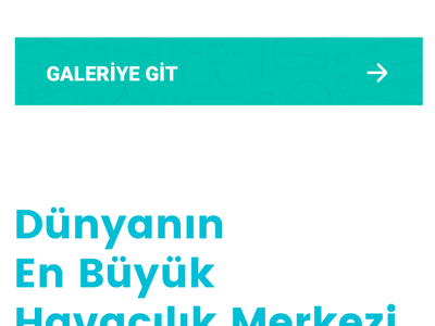 IGA New Airport Corporate Website 2018 turkish airlines flat ux ui design art creative corporate airport new