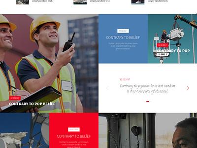 Aselsan Net Corporate Website responsive website business security radio art creative design flat ui ux