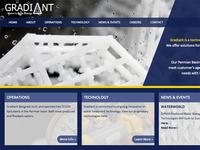 Gradiant Homepage