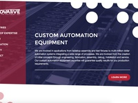 Homepage for Automation Equipment