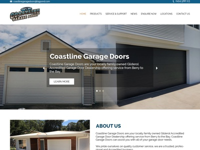Coastline Garage Mockup education ecommerce event digital dribbble drawing clean character concept color brand identity branding brand abstract animation art website logo graphic design design