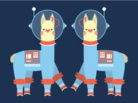Space Llamas