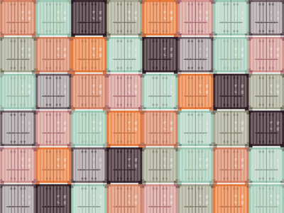 Shipping Crate Pattern