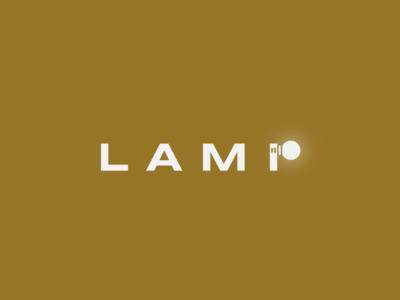 Lamp minimal logo illustration design