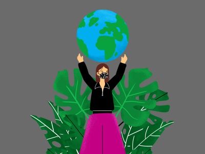 Earth vector design illustration