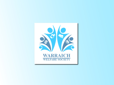 Warraich welfare society illustration vector logo