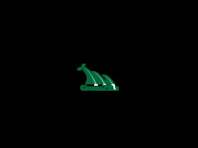 GreenziLLa art app vector logo illustration icon design branding