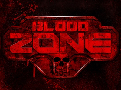 Blood ZOne zombie game ui game design blood battle sci fi