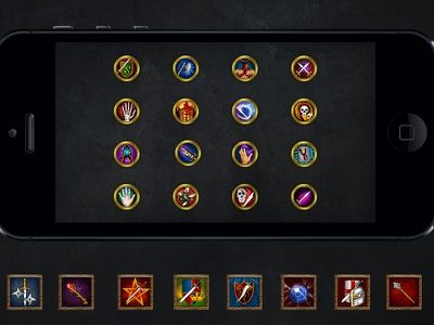 Game Icons icons game icons magic rune pc ios rpg