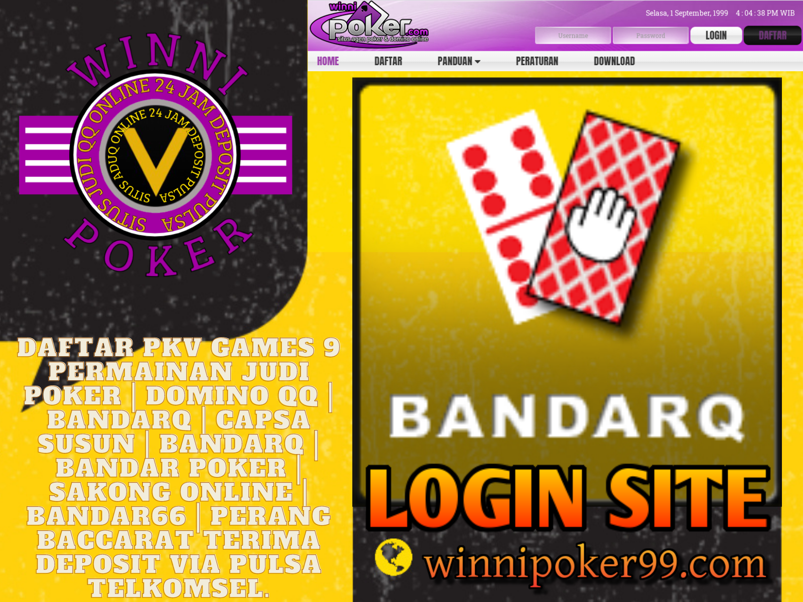 Winnipoker Pkv Games Deposit Dribbble