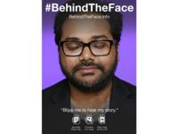 #BehindTheFace Augmented Reality Portrait: Ambarish Mitra