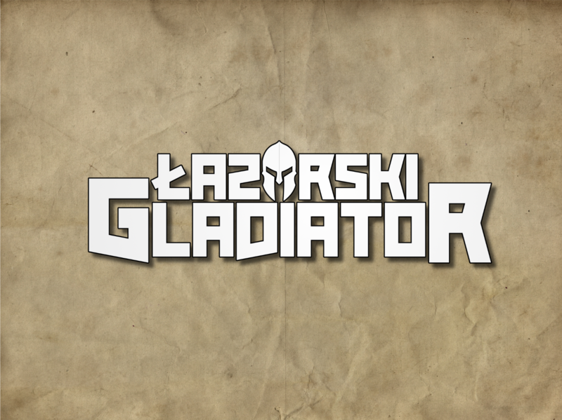 LOGO - Łazarski Gladiator design logo
