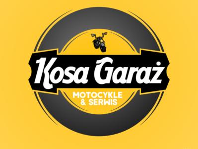 LOGO - Kosa Garaż design logo