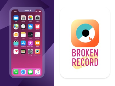 App Icon - Daily UI #005 logobranding record music branding logo design user experience ux app ui uiux dailyuichallenge vintage dailyui challenge daily dribbbler dribbblers