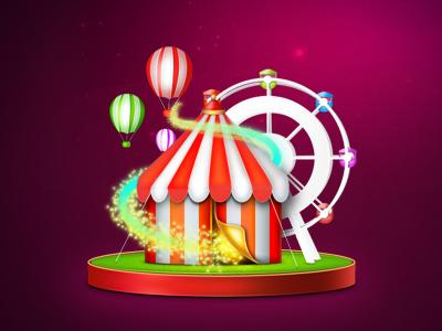 Circus icon 400 300