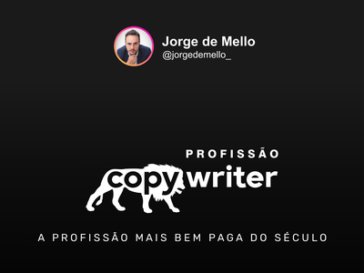 Profissão Copywriter Logo copywriter design marketing agency ui illustration typography logo logodesign