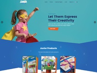 Junior home page