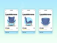 Furniture App Single Product Screen